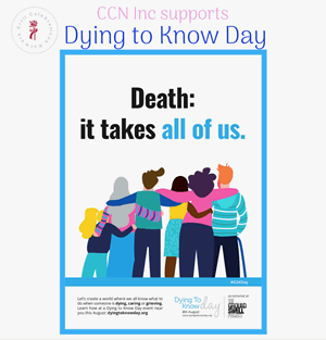 CCN Inc supports Dying to Know Day