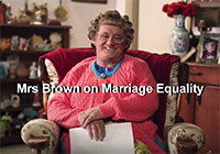 mrs brown same sex marriage 200