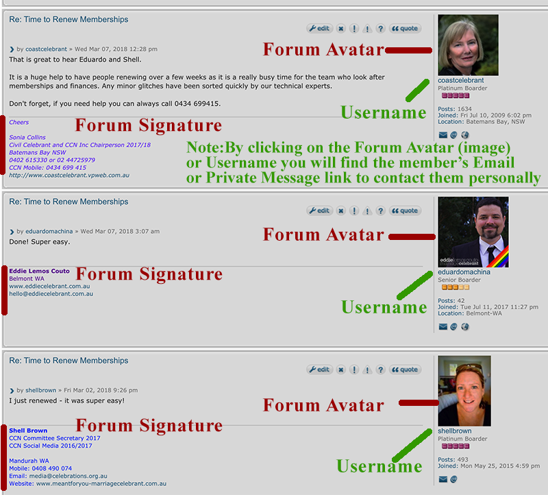 forum signature detailed