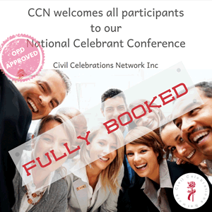 2019 CCN Conference Fully Booked