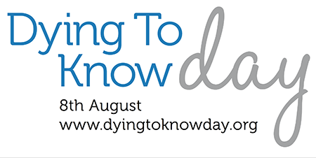 dying 2 know logo white