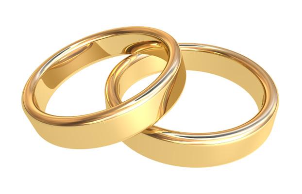 50th Anniversary Gold Wedding Bands Jpg
