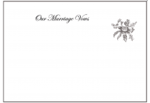 Certificates: Marriage vows with Australian motif