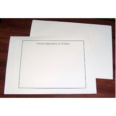 A4 Cream envelope  with Guest Wishes X 10 SPECIAL