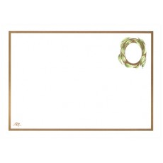 A4 White gumleaves blank Certificate