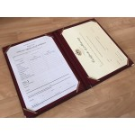 A4 Signing Register: Ceremony Register folder - with or without motif