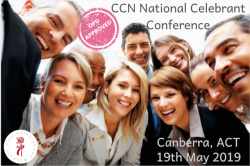 CCN National Celebrant Conference - 19 May 2019