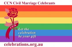 The Celebrants Network supports marriage equality