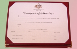 Form 15 marriage certificates