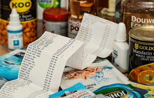 Tax Invoices and Receipts - Shop
