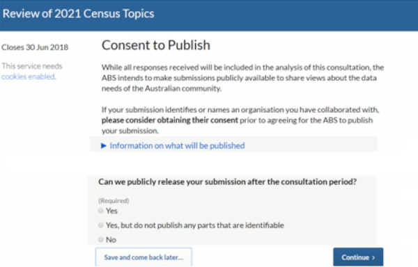 Copy of Census 2021 Feedback Form