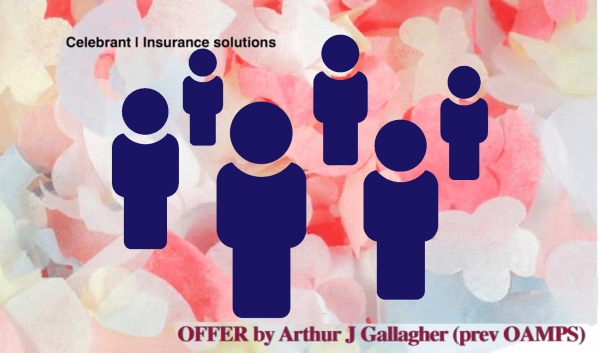 Group celebrant insurance - What do you get for $35pa?