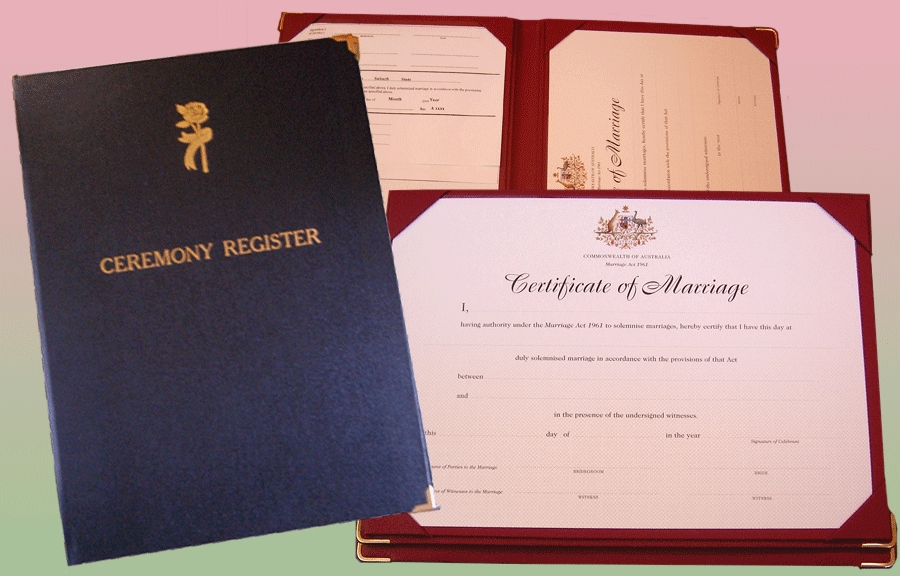Register Folders Marriage